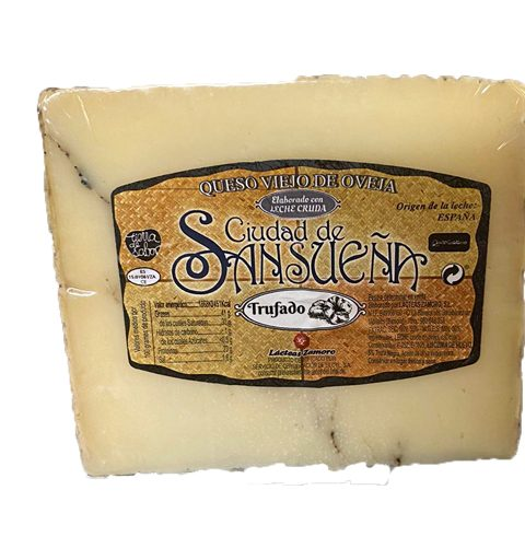 queso oveja trufado sansueña_id4737