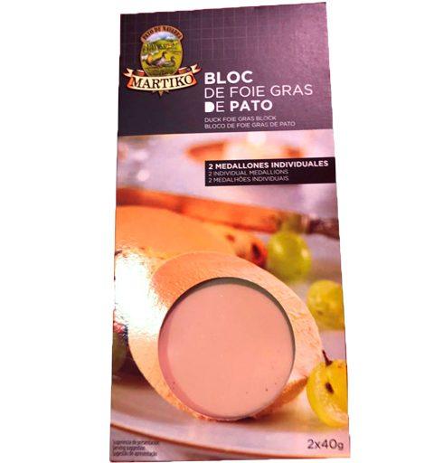 Bloc Foie Grass Pato Micuit Martiko